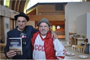 Dave Bidini et John McFadden. (Crédit photo: Denis Lord)